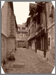 Backstreet of Honfleur