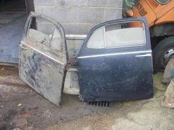 1960-63 beetle doors complete