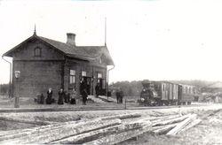 Nykarleby station