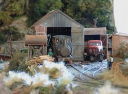 Nailer's Loco shed