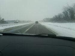 i-90 on the way back to NY