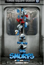 The Smurfs: Poster