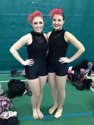 Dance Team Captains Spring 2014