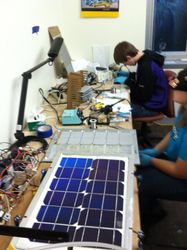 Making Solar Modules 7