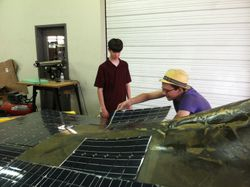 Laying out Solar Array