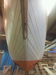 Hull bow-on