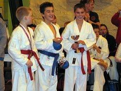 WKU Kyu grade competition