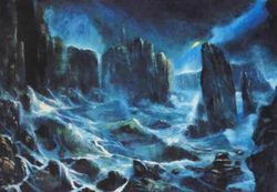 Staffa Fingals Cave (Painting)