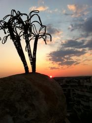 Empty Island Sunset