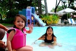 Palmas del Mar free form Island Pool
