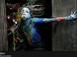 Pinta Flores Body Painting