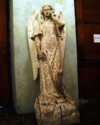 Antique Wooden Angel