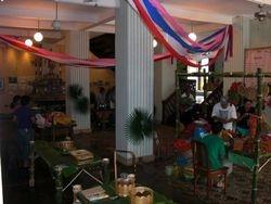 Fiesta inside the Zaguan