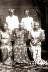 Enrica with Some Alunan Siblings
