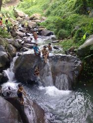 Mountain Stream in Mambucal
