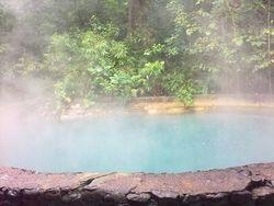 Sulfur pool