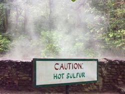 Caution, Hot Sulfur