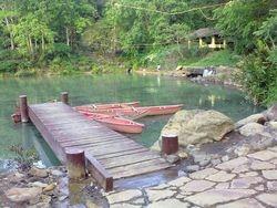 The boating lagoon