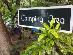 Campgrounds sign