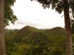 Chocolate Hills in Salvador Benedicto
