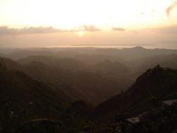 Sunrise over San Carlos City