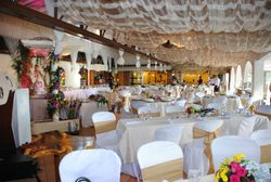 Wedding Set-up in the Clubhouse