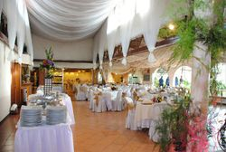 View of a Wedding Set-up in the Clubhouse