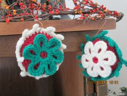 Red Stuffed Ornaments