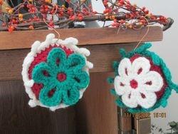 Red Stuffed Ornaments