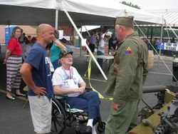 Honor Flight, Washington, MO, July 2009