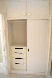 The closet(s)
