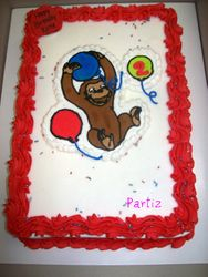 Curious George inspired