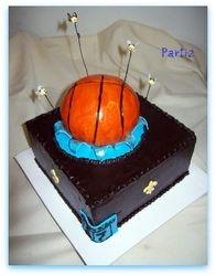 Hornets Inspired Birthday Cake