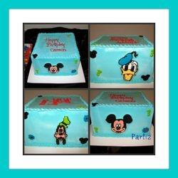 Mickey themed cake