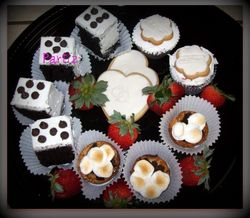 Assorted sweet tray