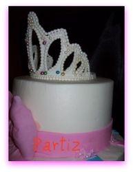 Sugar tiara