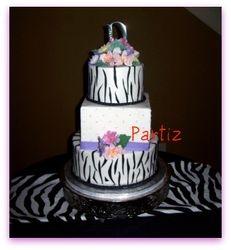 Diana's  & Reece's  Wedding Cake