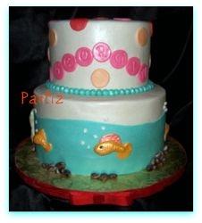 Birthday fish bowl
