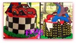 Cars/ Spiderman themed birthday!