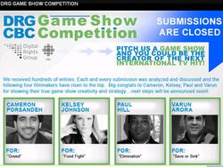 International TV Game Show contest winner