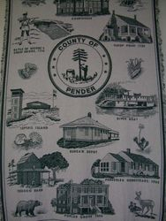 Pender County Coverlet