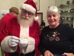 Santa Clause love Pender County Museum