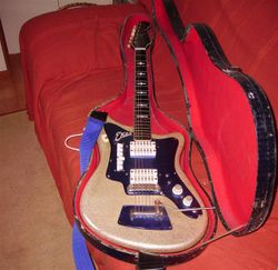 Moja gitara Eko 500v4 model 1963