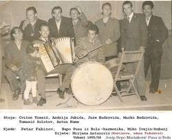 Ples u sali Doma Matija Ivanic 1955/56
