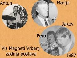 VIS Magneti Vrbanj-zadnja postava 1987/88