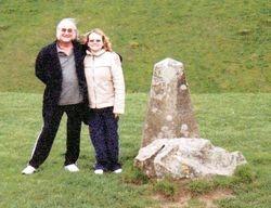 Nikki & Pete's first Adventure at Stonehenge & Avebury in 2003