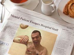 Mental Patient Escapes (2016)
