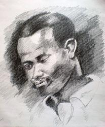 study of negro head, after Peter Paul Rubens
