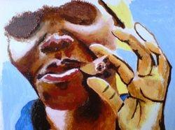 Cuban woman with cigar (June 2008)