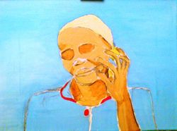 Cuban lady with cigar (unfinished)